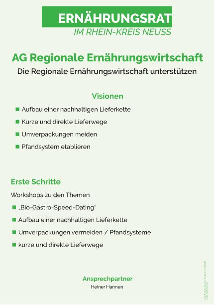 Vision AG Regionale Ernährungswirtschaft
